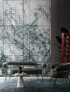 Wall&Deco, tapete Trilleage, Raw