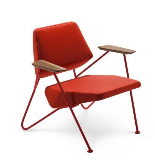 Fotelja Polygon, Prostoria, dizajn: Numen / For Use, od 3504 kn
