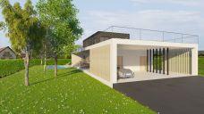 SODA arhitekti / kuća Prst / vizualizacija