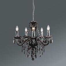 viseca-svetilka-isabella-sivo-rjava-krom-romantika-kovina-umetna-masa-moemax-modern-living