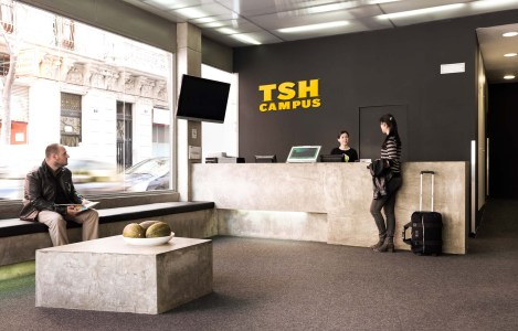 The Student Hotel Experience Design Team - TSH Campus Barcelona, Barcelona, Spain_6