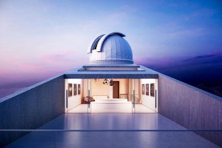 Civic - Kyriakos Tsolakis Architects - Troodos Star Observatory, Agridia, Cyprus / Dezeen