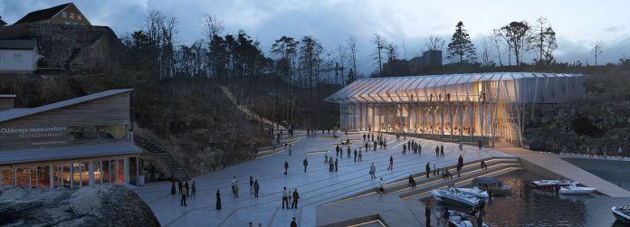 Culture - Helen & Hard Architects - Navet - new museum building for Vest Agder Museum, Kristiansand, Norway / Designboom