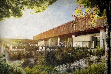 Education WINNER - Warren and Mahoney Architects with Woods Bagot - Lincoln University and AgResearch Joint Facility, Christchurch, New Zealand / e-architect