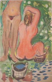 Chagall-Le-bain