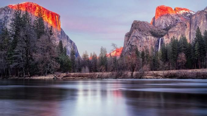 Randonnees en Californie, ici a Yosemite