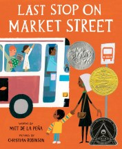 """""""Last Stop On Market Street"""" book cover"""