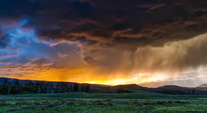 Photo of rain clouds
