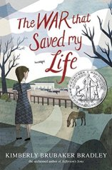 """The War That Saved My Life"" book cover"