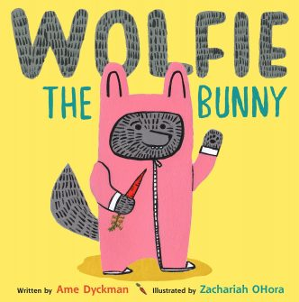 Wolfie the Bunny book cover