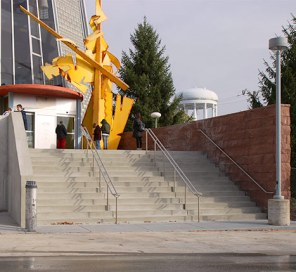 Columbia Public Library stairs reopened after construction