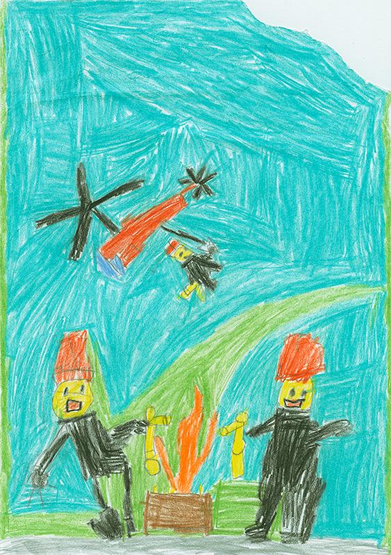 "Stephen Thomas, South Callaway - ""Lego City: Smoke Zone"" by Quinlan B. Lee"