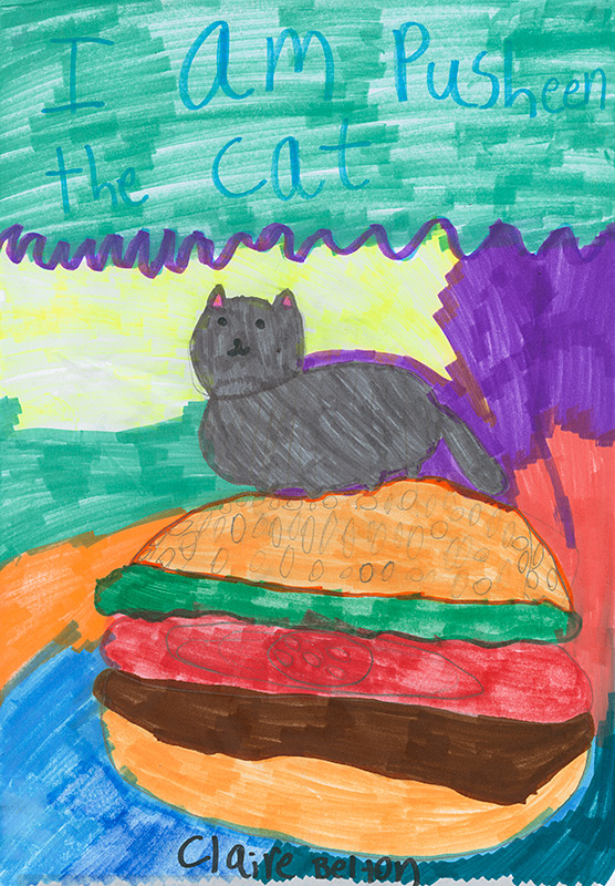 """Diana Koofer-Thompson, North Elementary - """"I Am Pusheen the Cat"""" by Clair Belton"""