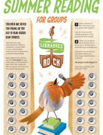 Summer Reading for Groups poster