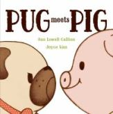 cover for Pug Meets Pig book