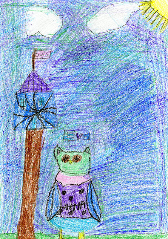 "Chelsea Klutho, Southern Boone County Elementary - ""Eva's Treetop Festival"" by Rebecca Elliot"