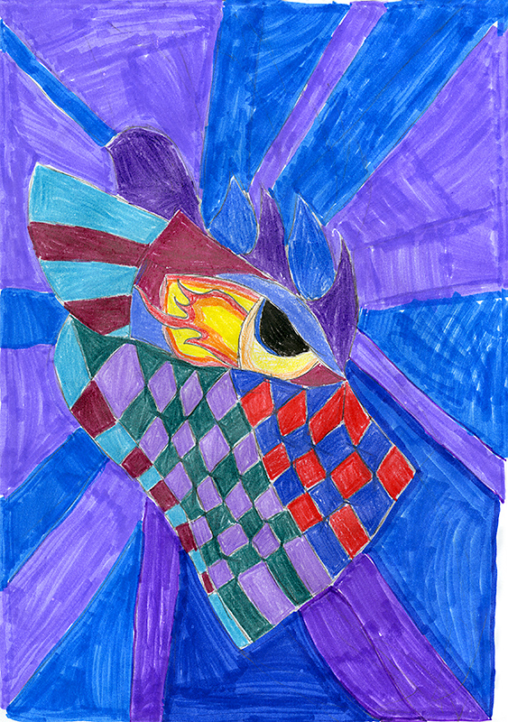 "Trystin McMullin, Auxvasse Elementary - ""Dark Fire"" by Chris d'Lacey"