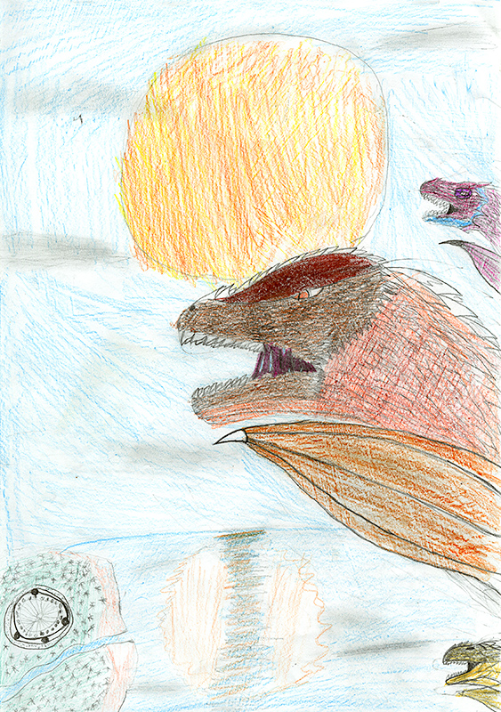 "Marley June Morrell, Southern Boone Elementary - ""Wings of Fire"" by Tui T. Sutherland"