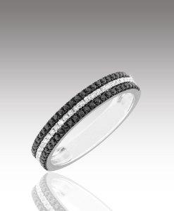 Micro Diamond Triple Ring