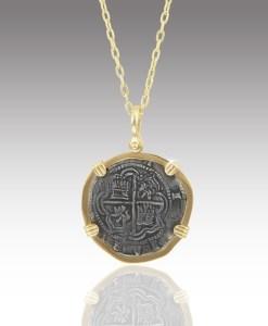 New World Spanish Treasure Coin #08375