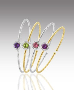 Gemstone Flexi-Bangles