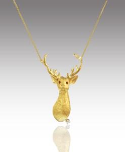 Buck Head Necklace