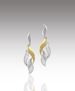 Diamond Sweep Earrings