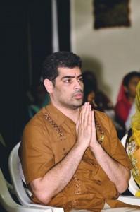NDP-topper Ashwin Adhin