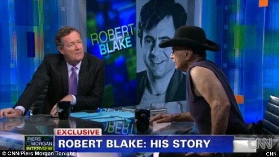 Robert Blake On CNN's Piers Morgan Show Talks Bonnie Lee Bakley Murder (VIDEO)
