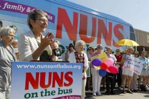 Nuns on the Bus Riding For 'Faith Family And Fairness'
