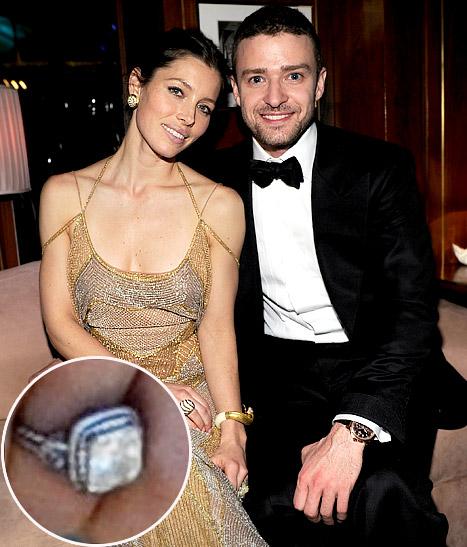 Jessica Biel's Wedding Ring Worth $3k
