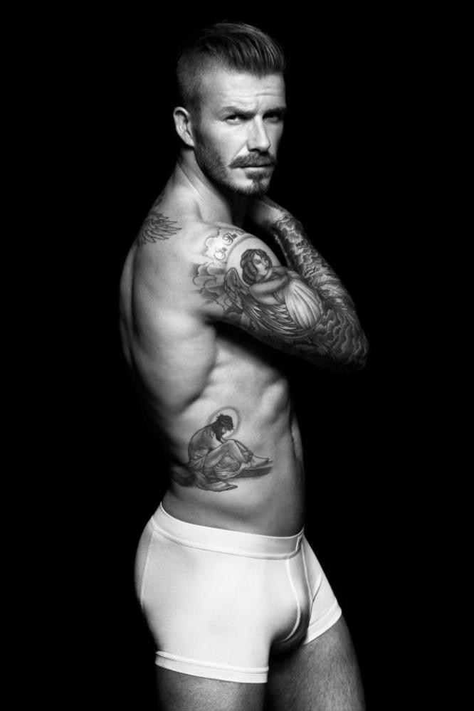 David Beckham H&M Underwear Ads Courtesy of H&M