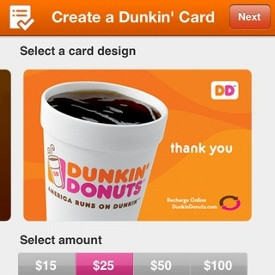 Dunkin Doughnuts Launches Mobile App