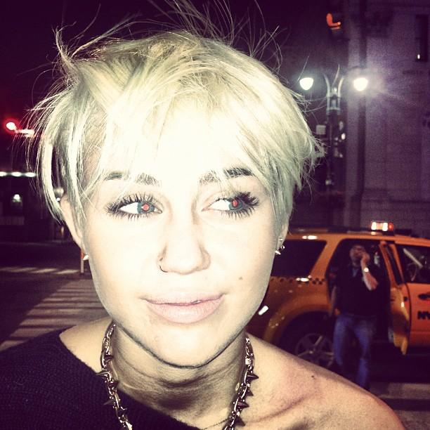 Miley Cyrus Hair Cut Shocks Fans