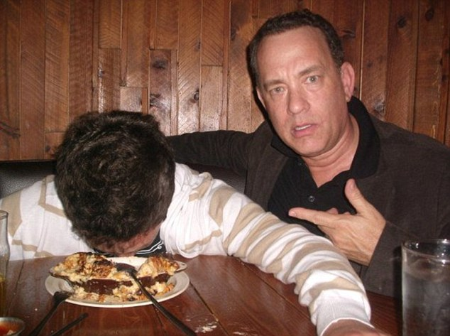 "Tom Hanks ""Wasted"" Photos Viral: Actor Hams It Up With Fan"