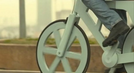 $9 Cardboard Bicycle Could Be Mass Produced