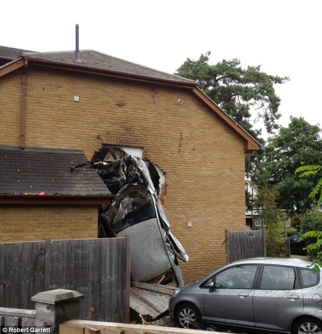 "Car Crashes Into Couple's Bedroom, Hits Park Car Before ""flying"" 80ft"
