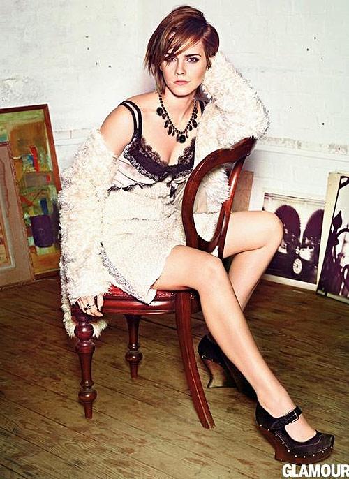 Emma Watson Has Wardrobe Malfunction In Toronto