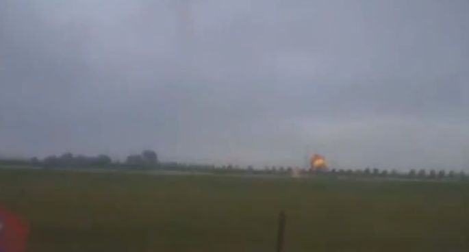 Iowa Air Show Crash Leaves Pilot Dead