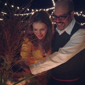 Amber Tamblyn Shines In Yellow Wedding Dress