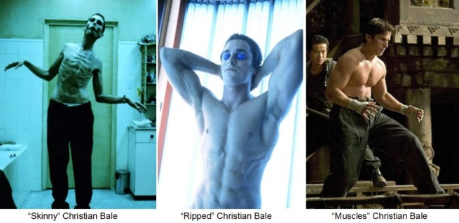 Celebrity Body Transformations: Christian Bale Lost 63 Pounds For Role