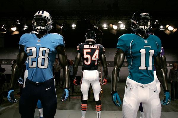 NFL Players Complain Jerseys Make them Look Fat
