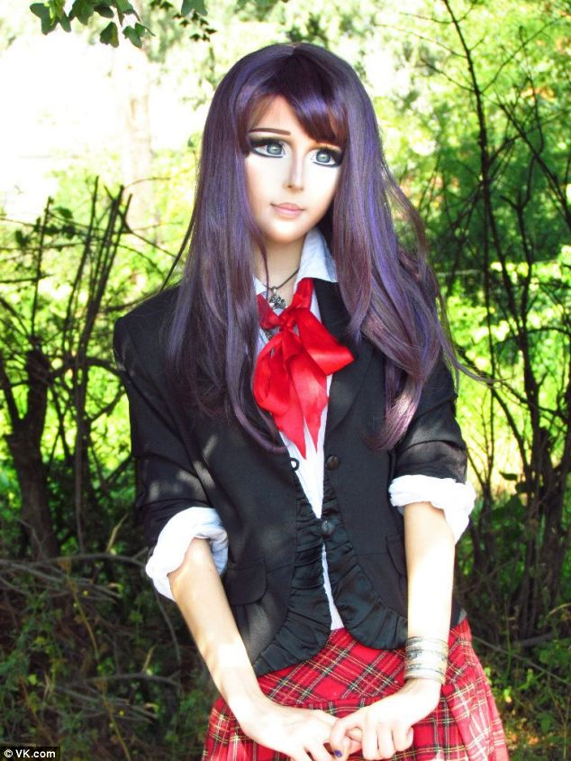 Real-Life Anime Girl:  Cool Or Creepy?
