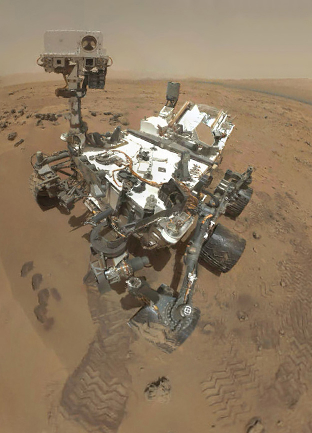 Rover's self-Portrait Details Life on Mars  Image Credit: NASA/JPL-Caltech/Malin Space Science Systems. Larger image Rover's self-Portrait Details Life on Mars  Image Credit: NASA/JPL-Caltech/Malin Space Science Systems. Larger image