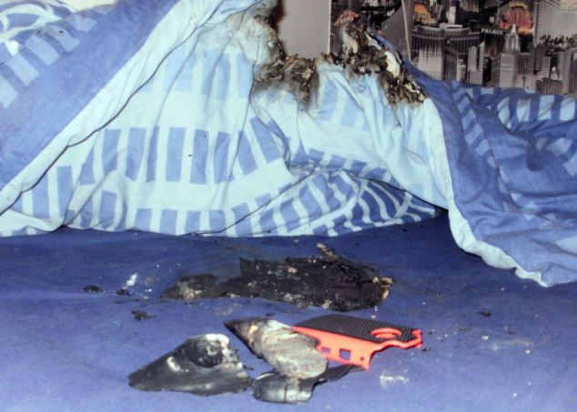 Boy burned as BlackBerry phone 'bursts into flames'   (Photo by Newsteam)