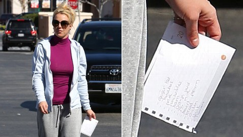 Britney Spears Swears By Grocery Shopping List