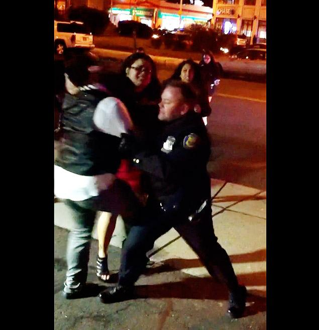Cop Punches Woman Video Sparks Outrage