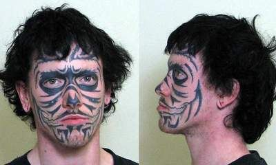 Skeleton Face Tattoo Thefts Baffle Police