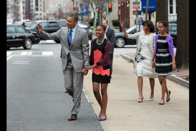Obama Easter Outfit: First Lady Goes Casual On Holiday