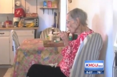 105-year-old Bacon Woman Says Key To Long Life Is Pig